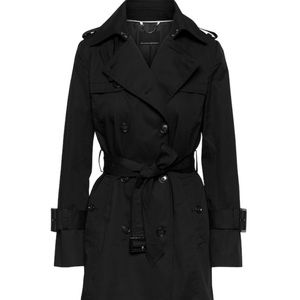 Banana Republic Black Classic Trench Coat
